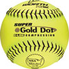 WORTH SUPER GOLD DOT 12 IN. OPTIC SOFTBALL