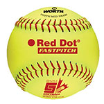 RAWLINGS RED DOT 11 IN. OPTIC SOFTBALL
