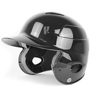 ALL STAR OSFA BLACK BATTERS HELMET