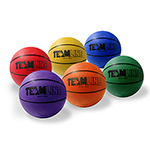 TEAMLINE RAINBOW BASKETBALL