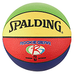 SPALDING ROOKIE GEAR BASKETBALL 5 MULTI COLOUR