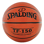 SPALDING TF150 ALLPRO RUBBER BASKETBALL
