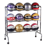 3 TIER BALL CART