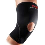 MCDAVID KNEE SUPPORT O/PATELLA 402 BLK/SCAR