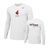 NIKE MENS FENCING LEGEND L/S TOP WHITE