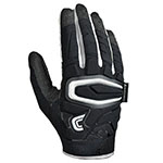 SHOCK SKIN GAMER RB/LB GLOVE - PADDED ADULT - BL