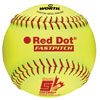 RAWLINGS RED DOT LEATHER 12 IN. OPTIC SOFTBALL