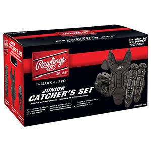 RAWLINGS PLAYERS SERIES YOUTH CATCHER´S SET BLACK