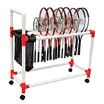 RACQUET CARRYING CART HOLDS 40 - 60
