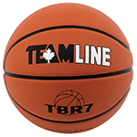 TEAMLINE DELUXE RUBBER BASKETBALL