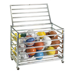 LOCKABLE BALL STORAGE LOCKER 42 IN. X24 IN. X28 IN.