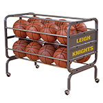 24 BALL HEAVY DUTY LOCKABLE BALL CART