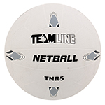 TEAMLINE RUBBER NETBALL BALL SZ 5