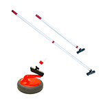 FLOORCURL CURLING PUSHING STICKS PAIR