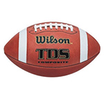 WILSON TD SERIES COMPOSITE FOOTBALL
