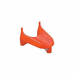 FOOTBALL KICKING TEE ORANGE