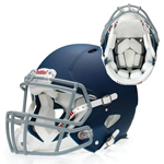 RIDDELL FOUNDATION HELMET MOLDED COLOURS