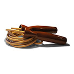 PROFESSIONAL LEATHER JUMP ROPE