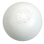 WARRIOR OFFICAL LACROSSE BALL WHITE EACH