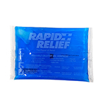 RAPID RELIEF REUSABLE COLD PACK 4IN X 6IN