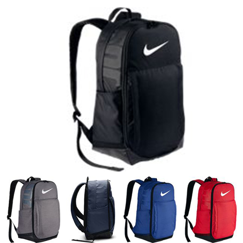 3652a796f257 Design for storage with a large compartment and small item pockets inside  and out. Ultra durable shoulder straps for comfort. Black