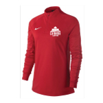 WOMENS WCL QUARTER ZIP PULLOVER RED