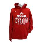 NIKE WCL HOODY RED