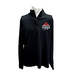 NIKE MENS WCL QUARTER ZIP BLACK