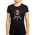 WOMEN´S FENCING MASK TEE