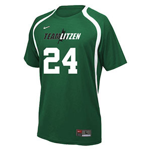 NIKE RALLY CREW VOLLEYBALL JERSEY TEAM SET DARK GREEN