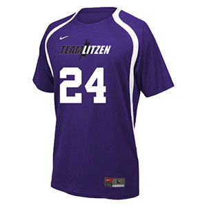 NIKE RALLY CREW VOLLEYBALL JERSEY TEAM SET PURPLE