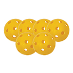 OUTDOOR PICKLEBALL 6 PACK OF BALLS