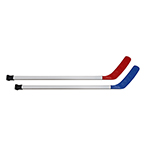 TEAMLINE 36IN RIBBED FLOOR HOCKEY STICK