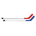 TEAMLINE 43IN RIBBED FLOOR HOCKEY STICK