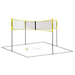 CROSSNET 4 SQUARE VOLLEYBALL OUTDOOR SYSTEM