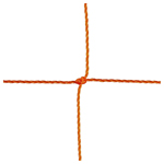 SOCCER NET 3MM ORANGE 8FTX24FT PAIR!!!!!!