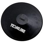 RUBBER 750 GRAM DISCUS BLACK