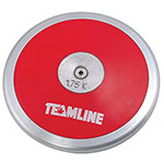 COMPETITION DISCUS 1.75K - RED