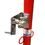 VOLLEYBALL WINCH FOR STANDARD POSTS