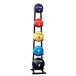 SINGLE SIDED MEDICINE BALL RACK