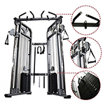 PRO FUNCTIONAL TRAINER WEIGHT 210 STACK SYSTEM