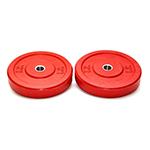 Coloured Bumper Plate 45lbs