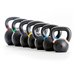 KETTLEBELL WITH COLOURED MARKS 28KG